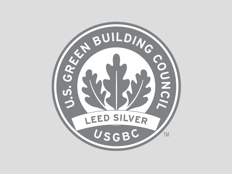 Graphic of US Green Building Council LEED Silver