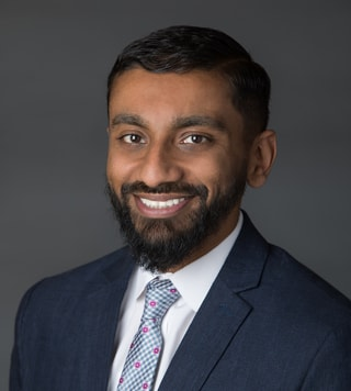 Headshot of Sarat J. Varghese, MD
