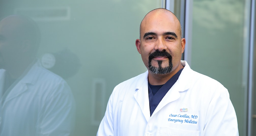 Meet Dr. Oscar Casillas