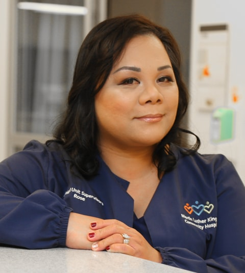 Meet ICU Nursing Supervisor Lyrose Ortiz