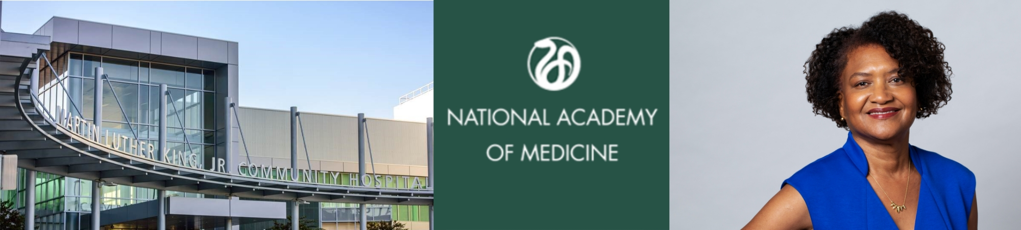 MLKCH CEO elected to National Academy of Medicine