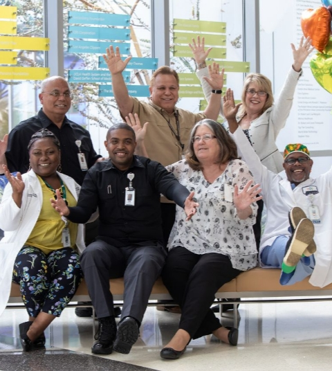 Picture of MLKCH Staff Smiling