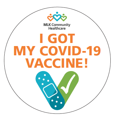 "photo of ""I got my vaccine button"""